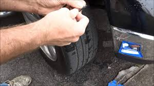 world easiest way to fix a flat tire nail in my truck tire