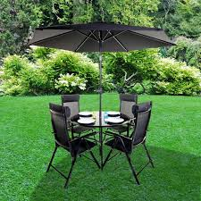 Round Garden Table With Lazy Susan by 4 Seat Garden Table And Chair Sets From The Gardening Website