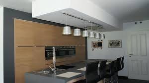 plan de cuisine moderne avec ilot central central avec luminaire cuisine avec plan de cuisine en l avec ilot