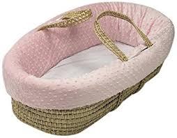 Baby Moses Basket Bedding Set Baby Doll Bedding Heavenly Soft Doll Moses Basket Set