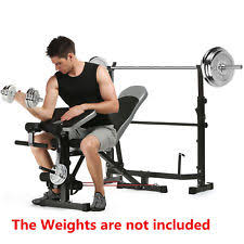 Buy Cheap Weight Bench Weight Bench Set Ebay