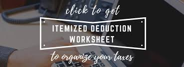 Clothing Donation Tax Deduction Worksheet Tax Tips Pps Tax Service