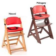 Swedish Wooden High Chair Keekaroo Height Right High Chair With Tray Target