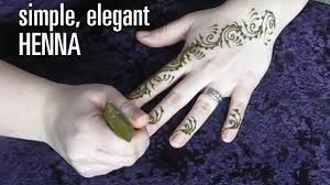 how to do a fast u0026 elegant henna tattoo design swirls and vines