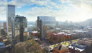 Construction Underway for Broadway Tower in Portland Global Tall
