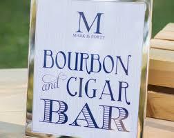bourbon sign bourbon bar sign etsy