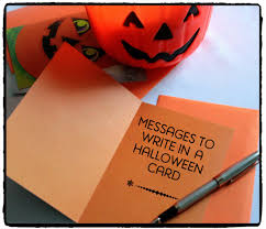 halloween greeting cards halloween messages jokes and poems to write in a card holidappy