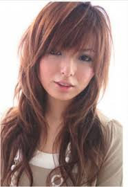 haircut for asian girls with oval face popular long hairstyle idea
