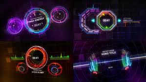 techno music visualizer by nael studio videohive