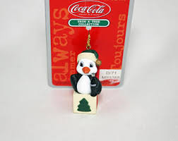 Coca Cola Christmas Ornaments - coca cola ornament etsy