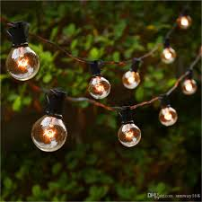 cheap string lights with 25 g40 globe bulbs ul listed for indoor