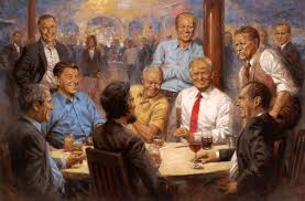 andy republican presidents painting features