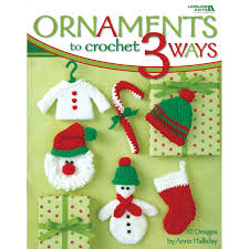 ornaments to crochet 3 ways leisure arts 4241 christine graf