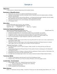 Sample Resume For Mechanical Engineer Experienced by Resume Formats For Engineers