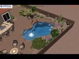 Custom Backyard Design By Noah Ingegneri Of Presidential Pools And - Custom backyard designs