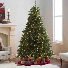 grand fir christmas tree decorated cheminee website