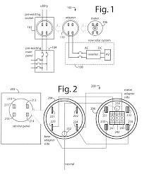 patent us7648389 supply side backfeed meter socket adapter