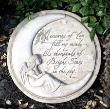 memorial stepping stones memories of you carruth studio waterville oh