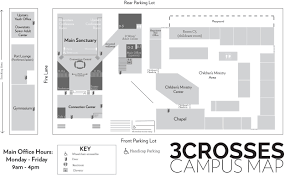San Diego State Campus Map by 3crosses Church