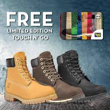buy timberland boots malaysia 18 nov 2017 onward timberland free limited edition touch n go