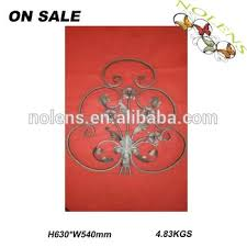 ornamental high quality wrought iron fence ornaments decorative