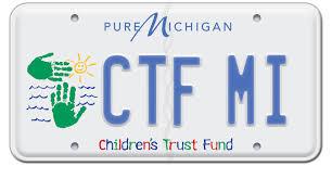 childrens trust fund license plate