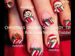 5 diy xmas nail art tutorials easy christmas nails design youtube