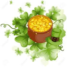 pot of gold shamrock clipart explore pictures