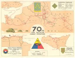 North Europe Map by File 70th Tank Battalion Combat Operations Campaign Map For North