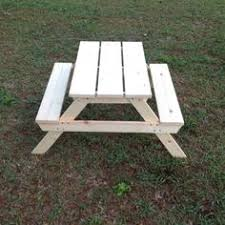 knock down picnic table plans knock down kids picnic table from 1 8 x4 sheet of plywood