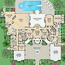 Big Houses Floor Plans 35 Best Luxurious Floor Plans Images On Pinterest House Floor