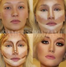 oh you crafty gal how to contour for your face shape