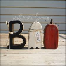 halloween boo letter with ghost and jack o lantern pumpkin 22 00