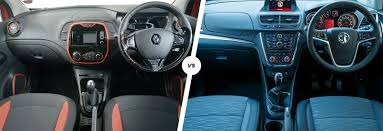renault kadjar automatic interior renault captur vs vauxhall mokka suvs compared carwow