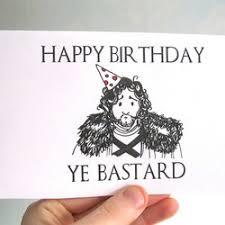 of thrones birthday card birthday card of thrones card person folksy