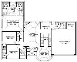 5 bedroom house plan 6 bedroom one story house plans nrtradiant