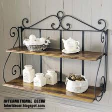 Wrought Iron Bathroom Shelves Repisa On Pinterest Bakers Rack Towel Storage And Wrought Iron