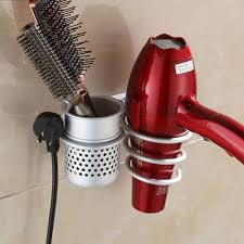 curling iron wall mount how to customize blow dryer holder u2014 modern home interiors