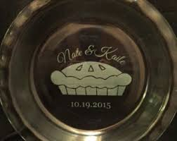 personalized pie plate ceramic pie plate etsy