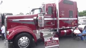 kenworth shop custom truck show big rigs video u0027s 75 chrome shop pride and