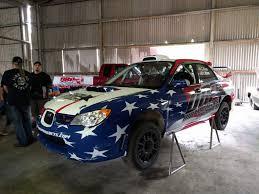 subaru hatchback custom rally dirty racing parts sti rally car livery skepple inc