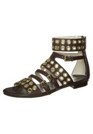 featuring style michael michael kors womens brown ankle cuff