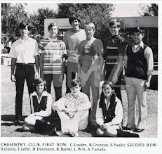 bryan high school yearbook bryan cranston s high school chemistry club yearbook photo 1973