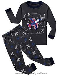 baby boy clothes if pajamas airplane and space baby boys