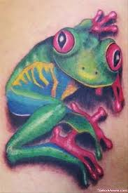 eyed tree frogs on shoulder viewer com
