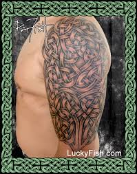 celtic tattoo portfolio u2014 luckyfish inc and tattoo santa barbara