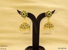 kempu earrings kempu earrings jewellery kemp jewellery on manekratna