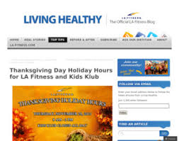 la fitness thanksgiving day hours for la fitness and