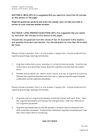 psychology essay sample sample essay questions cognitive psychology psyc edu essay sample essay questions psychology cognitive science 1439090
