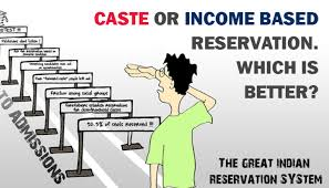 caste or income based reservation which is better akhil gundla